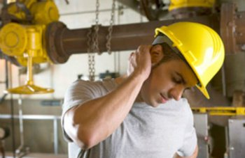 Photo of Worker with Neck Pain