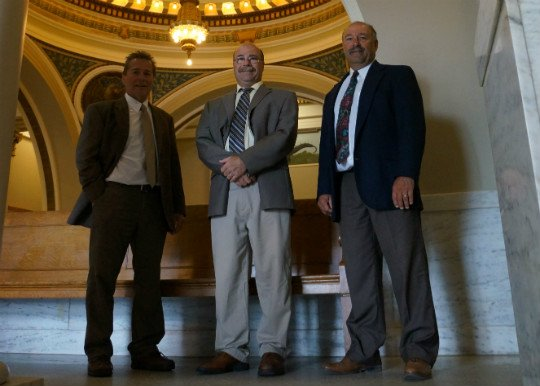 Photo of the Cirilli Lawyers at Court in Rhinelander